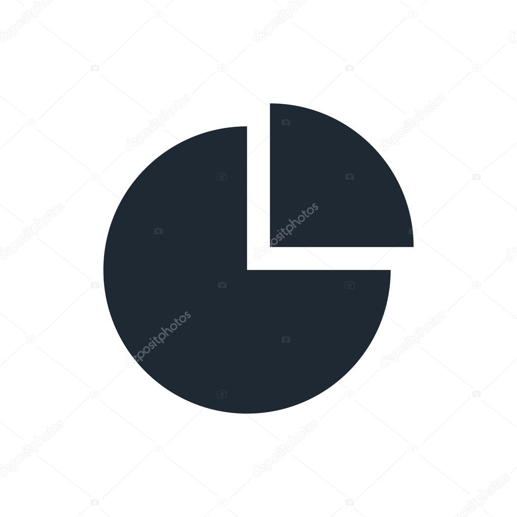 hight resolution of chart icon vector by luka007