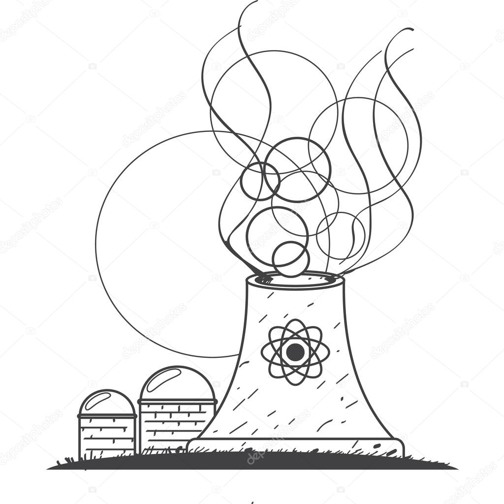 Nuclear Power Coloring Activity Coloring Pages