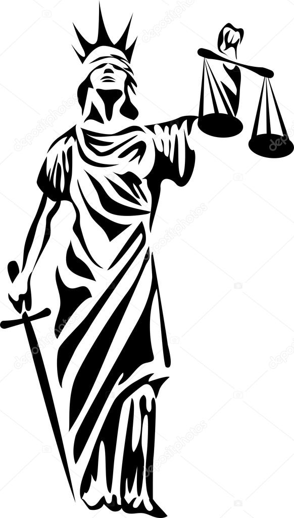 justitia — Stock Vector © bokononist #82921842