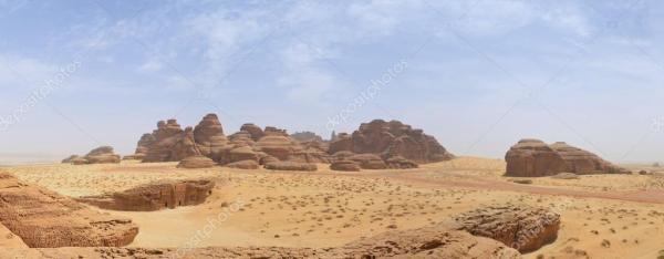 desert landscape - saudi arabia