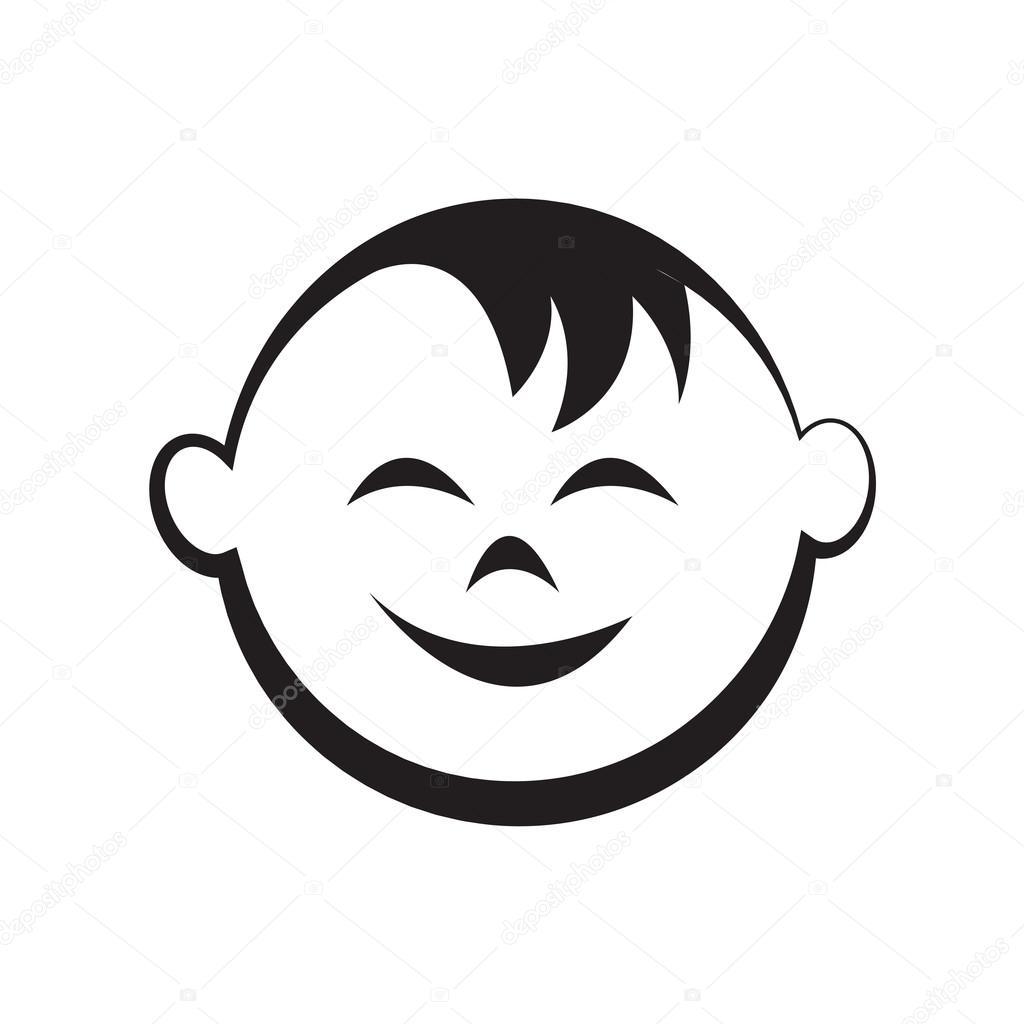 Het Gezicht Van Karakter Jongens Meisjes Kind Baby