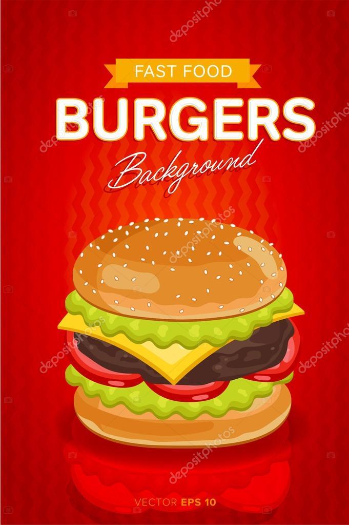 Imgenes fondos para publicidad de hamburguesas