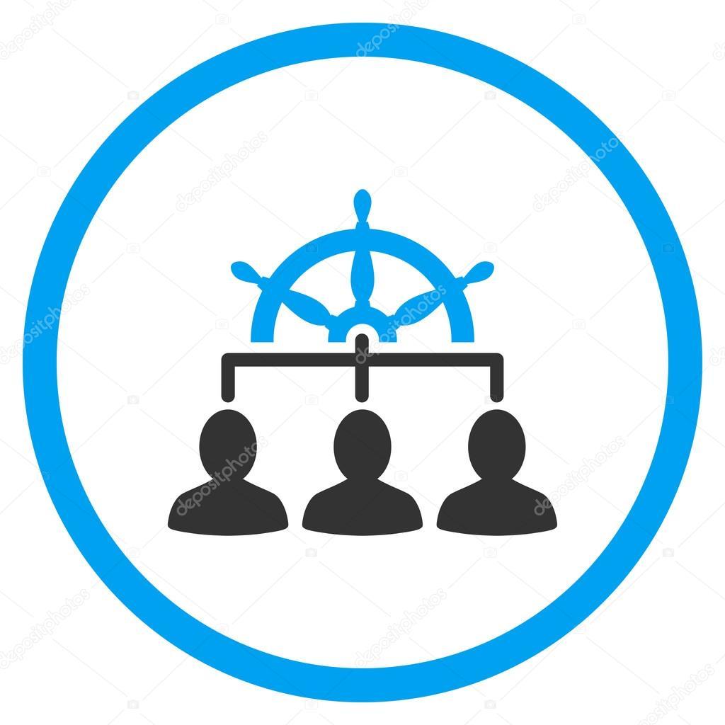 工作人員管理圓形的圖標 — 圖庫矢量圖像© ahasoft #96369030