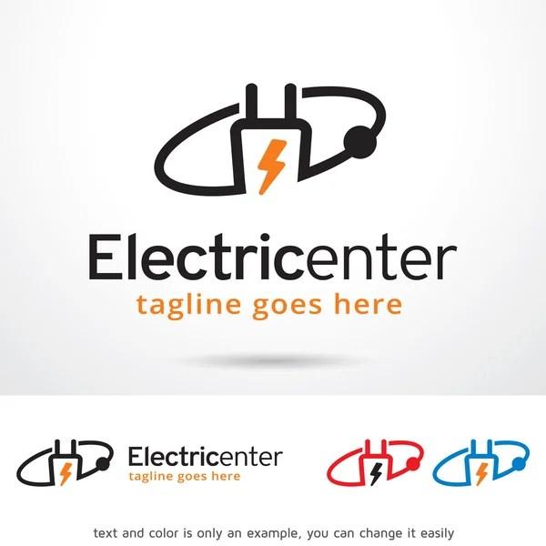 Service Center Logo Template Design Vector — Stock Vector