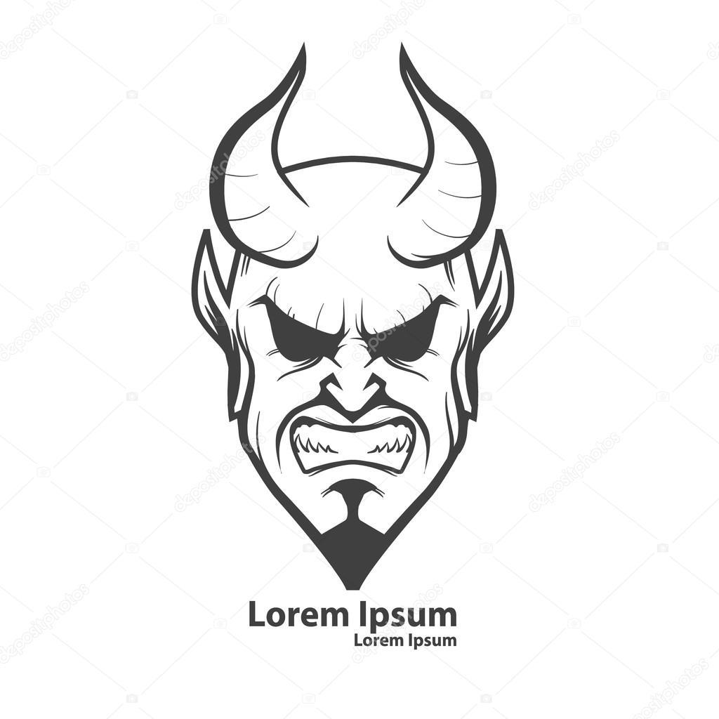 Teufel Kopf Logo