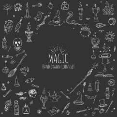 Kitchen Magician Brushed Nickel Faucet 魔法卡通设计元素 — 图库矢量图像© Lineartestpilot #19760655