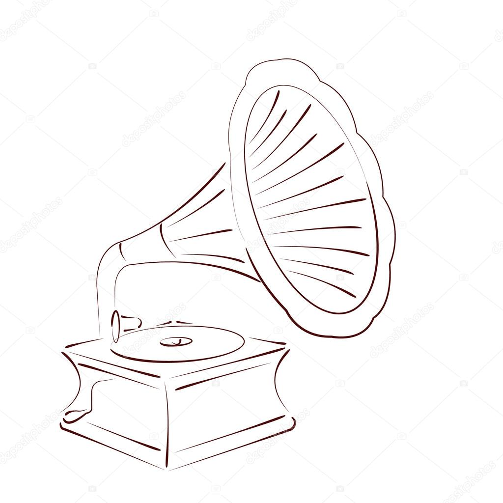 Gramophone Esquissee
