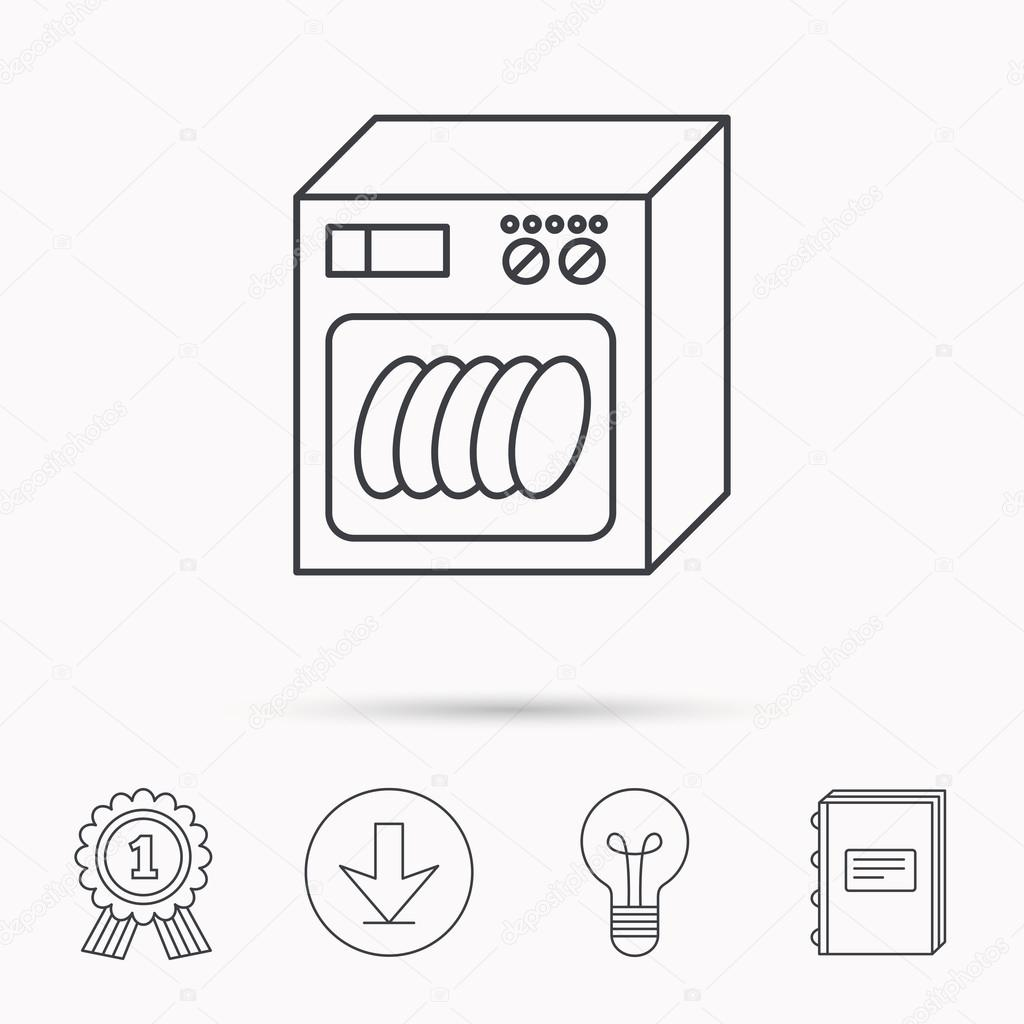 Hervorragend Spülmaschine Zeichen Bedeutung | Spülmaschine WE75