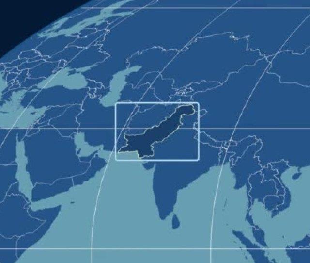 Pakistan D Tube Zoom Mollweide Projection Solids Stock Video