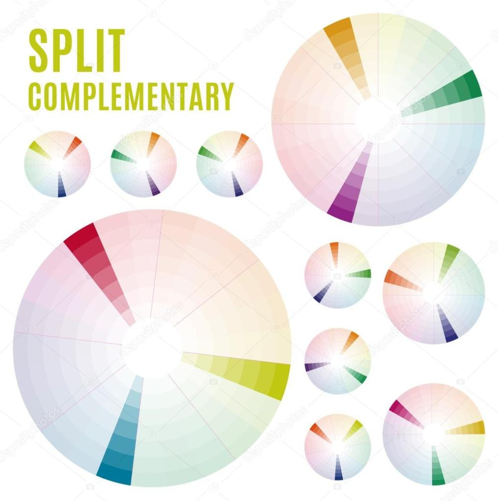 medium resolution of the psychology of colors diagram wheel basic colors meaning split complementary set part