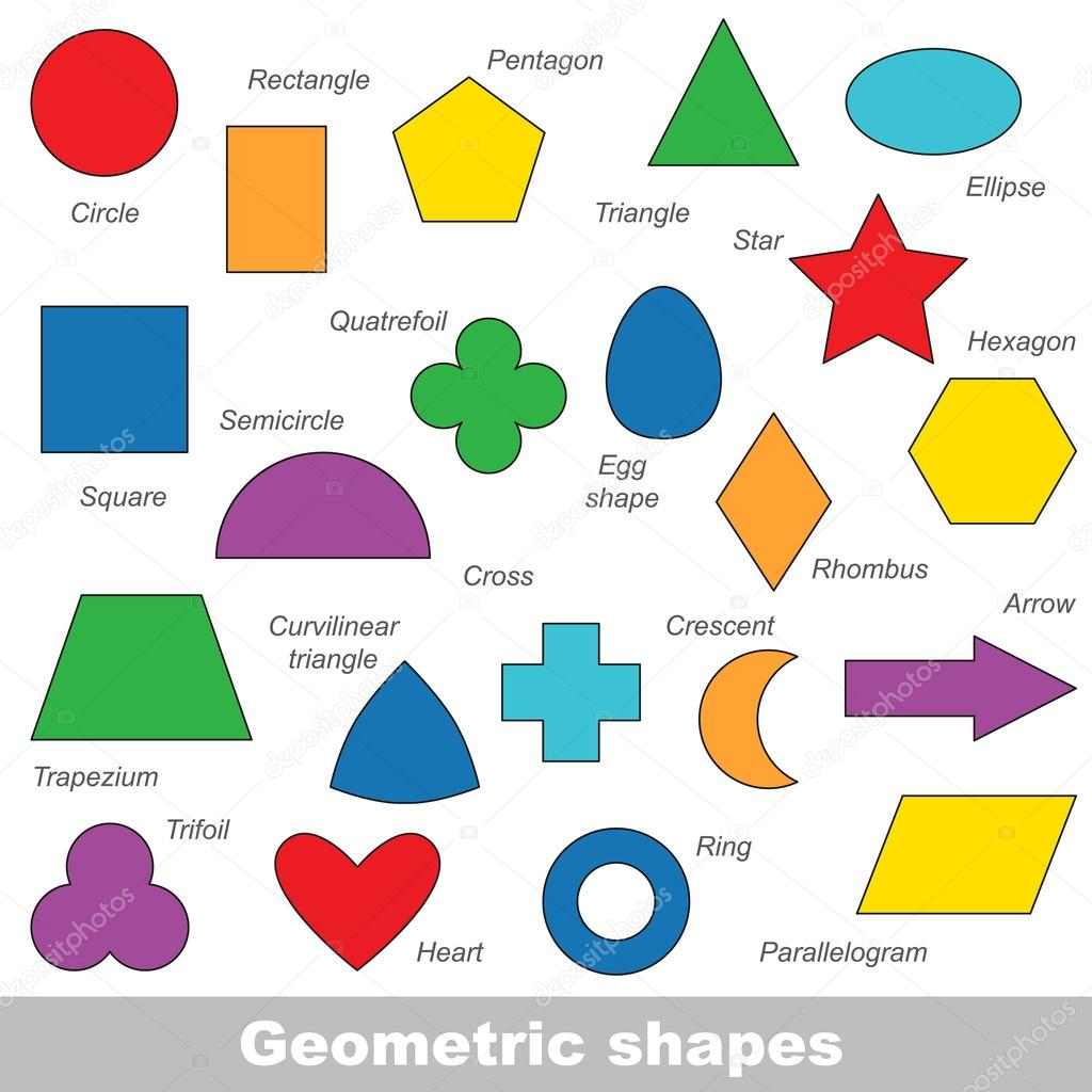 Geometric Shapes Set