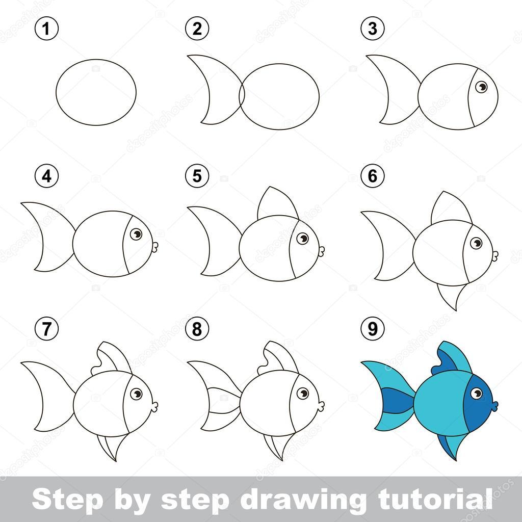 Drawings Cute Fish