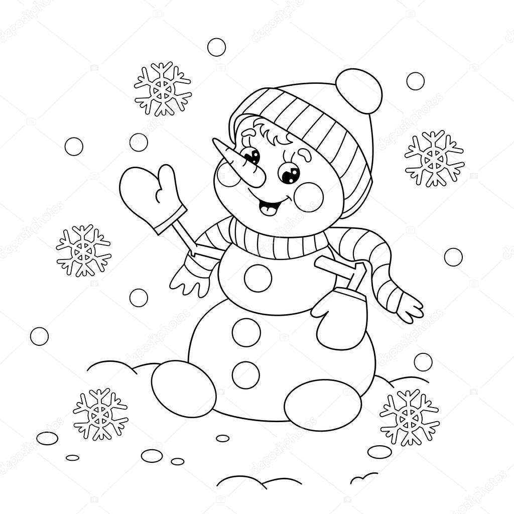 Briggs Snowman Worksheet