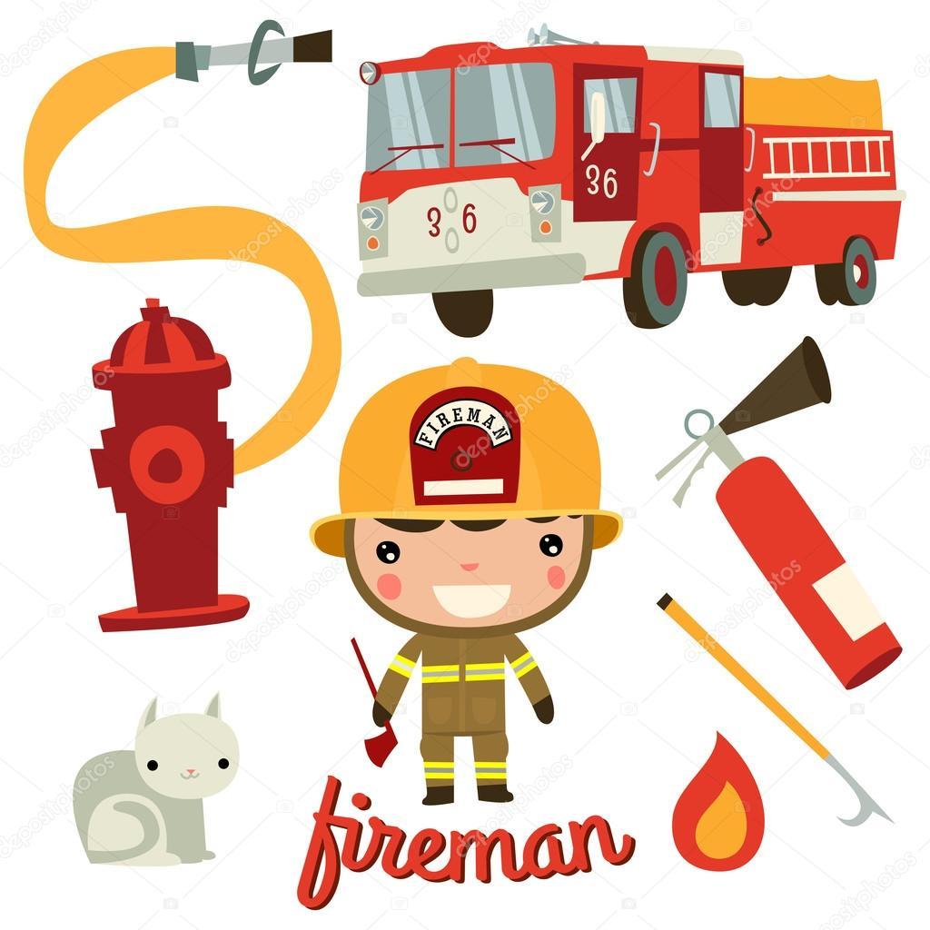 Firefighter His Stuff Fire Axe