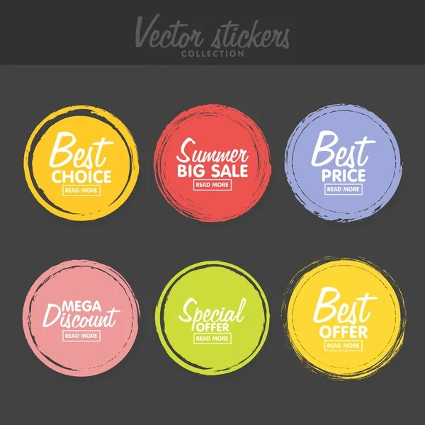 Vector Set Of Raw Honey Labels For Greetings And Promotion
