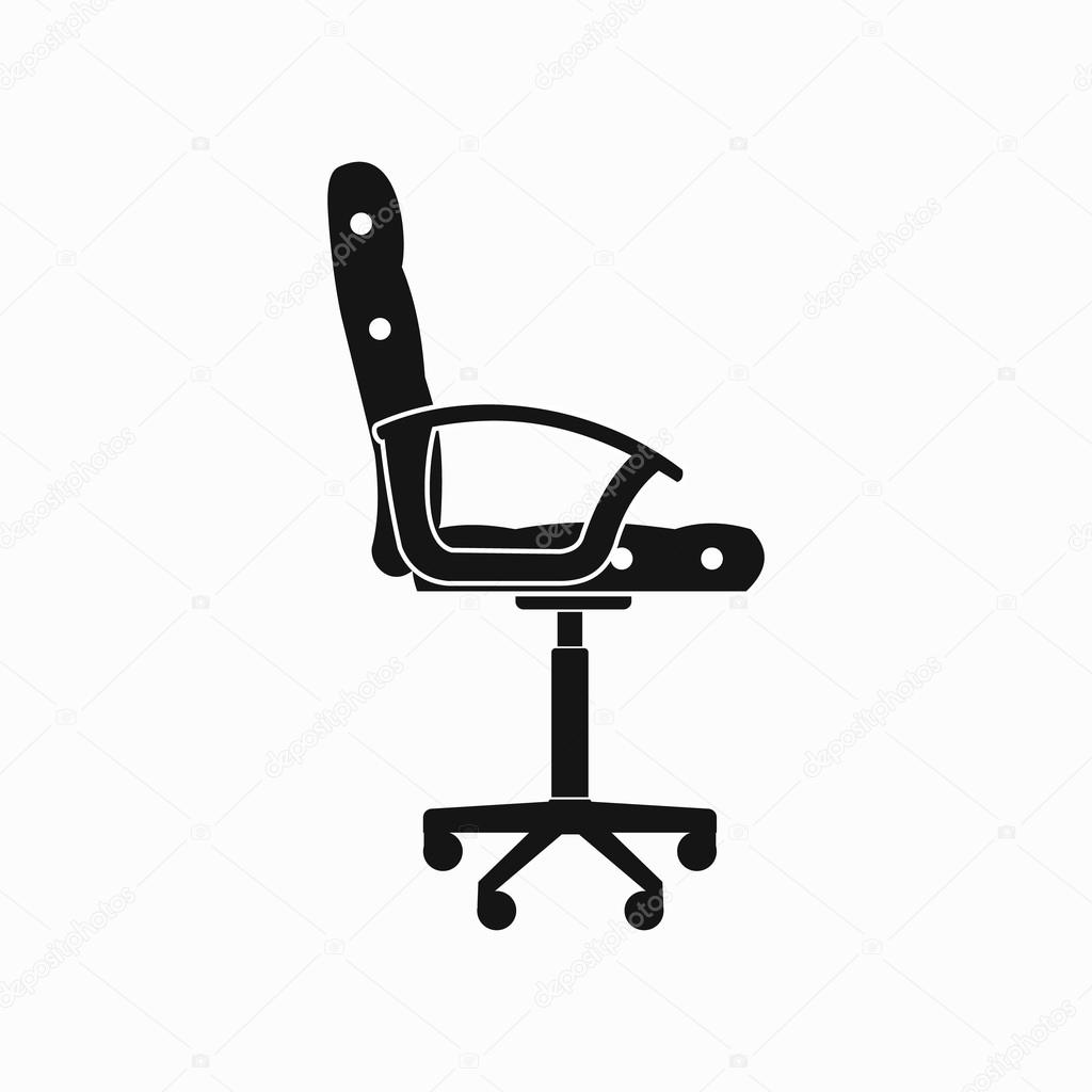 office chair illustration swing pakistan icon simple style stock vector c juliarstudio 105899724