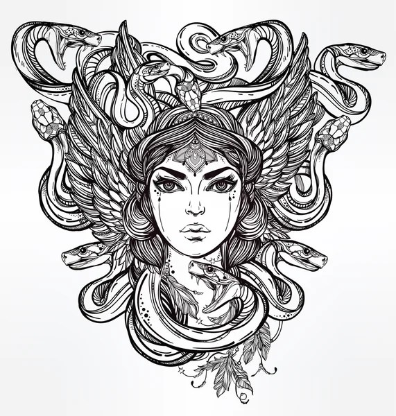 Medusa Stock Vectors, Royalty Free Medusa Illustrations