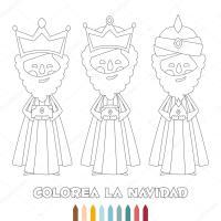 Imgenes: los santos reyes para colorear | Esquema ...