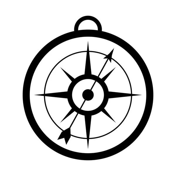 simple compass icon — Stock Vector © jemastock #114179636