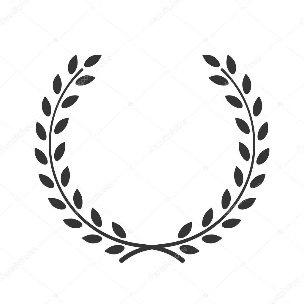 Laurel Wreath Symbol Victory Achievement