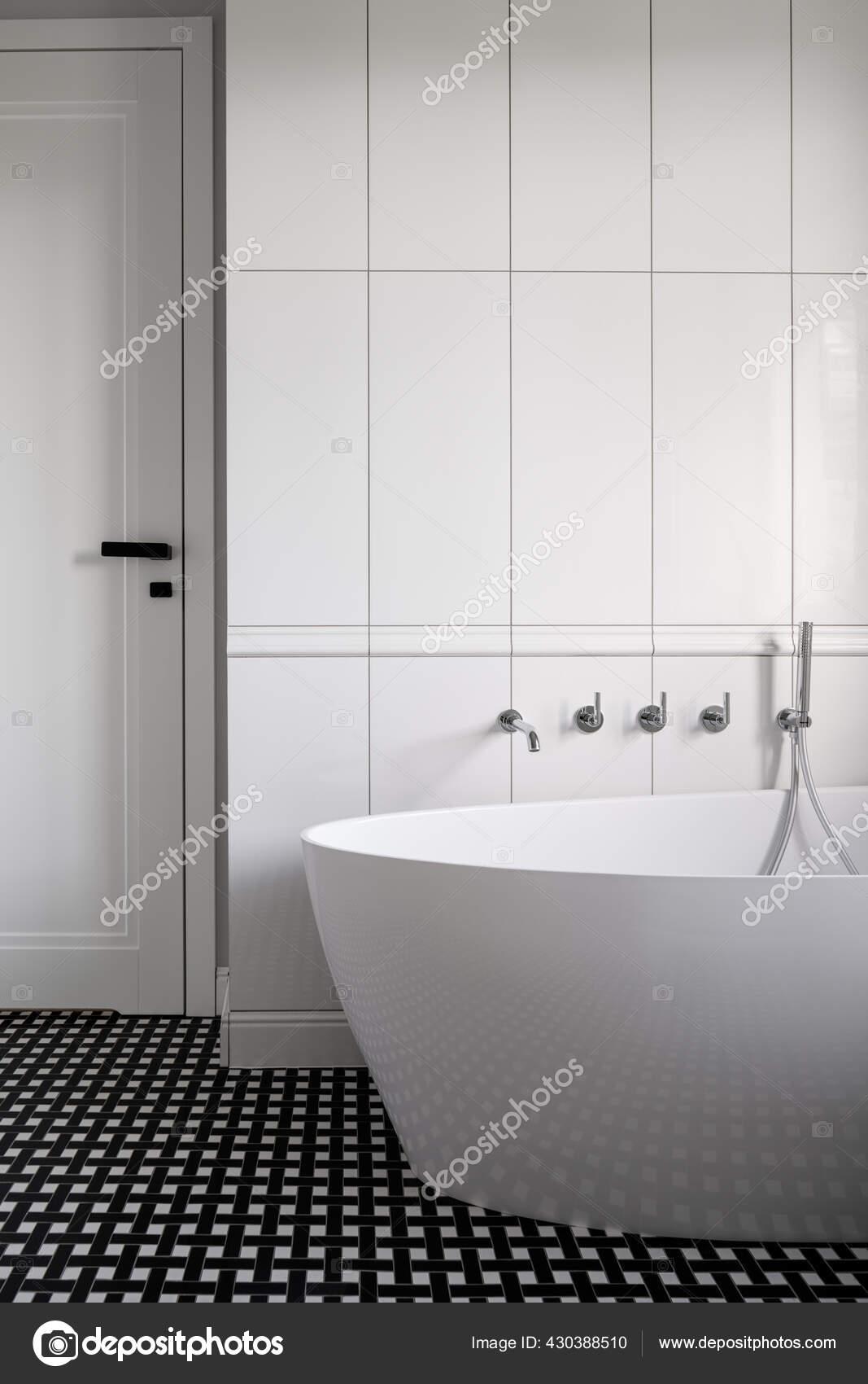 https depositphotos com 430388510 stock photo beautiful bathroom luxury freestanding bathtub html