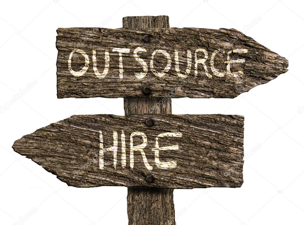 outsource or hire old