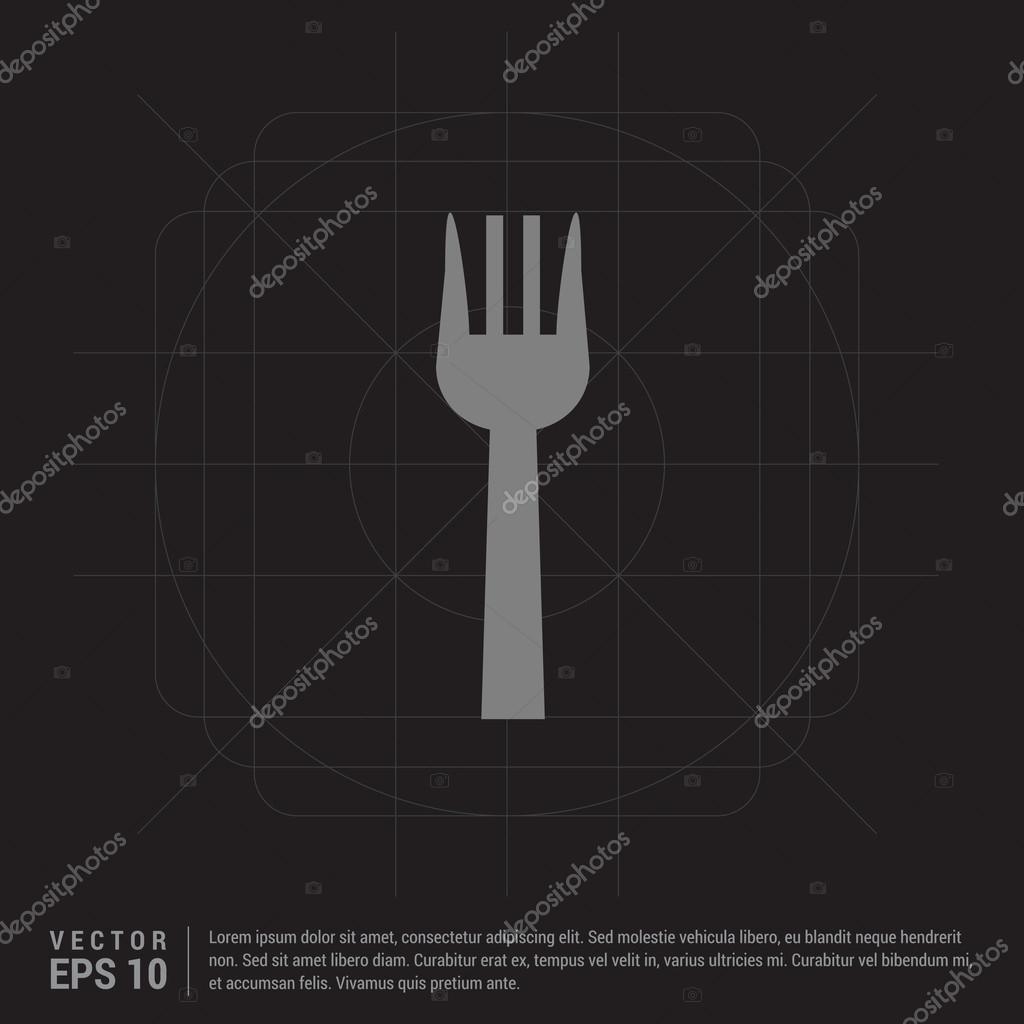 kitchen fork lowes remodeling 厨房叉图标 图库矢量图像 c ibrandify 116167552 图库矢量图片