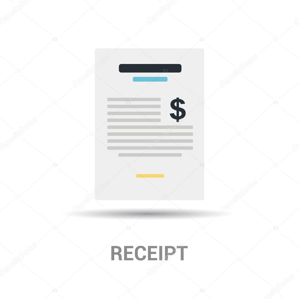 Payment receipt icon — Stock Vector © ibrandify #93742256