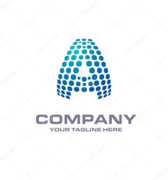 letter a logo stock vector [ 1024 x 1024 Pixel ]