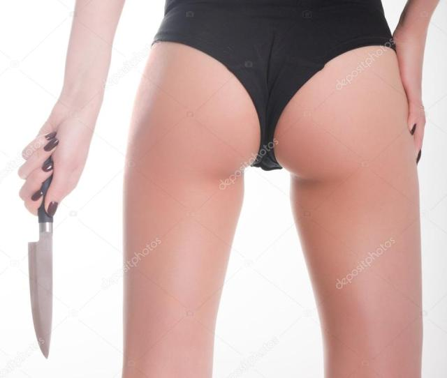 Close Up Ass Slim Girl In A Bathing Suit A Girl Holding A Knife Concept Danger Girl Photo By Sandy Che Yandex Ru