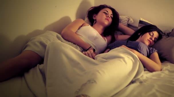 Lesbianas Problemas De Comunicacion Video De Stock
