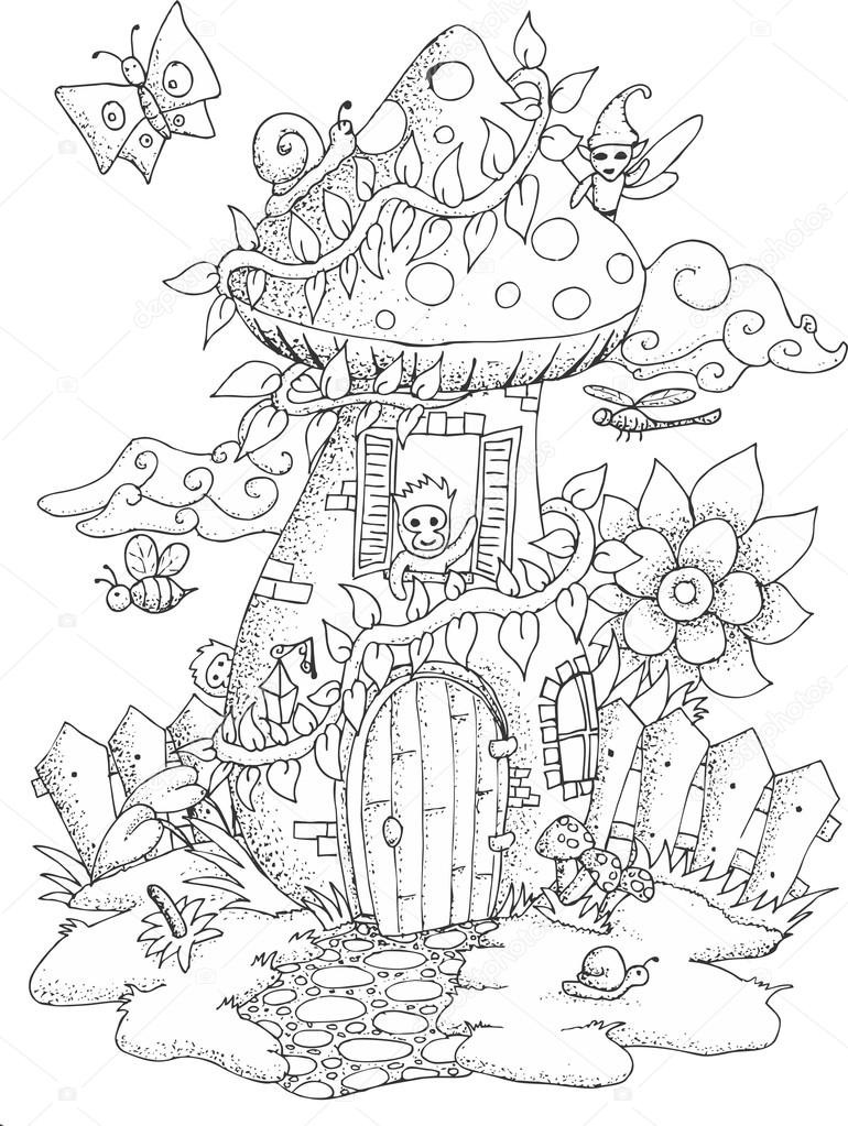 magic far away tree coloring pages sketch coloring page