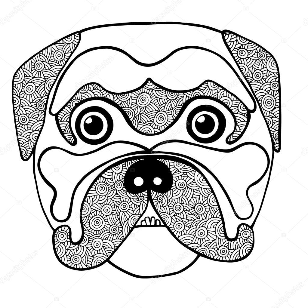 Kleurplaten Honden Duitse Herder Kidkleurplaat