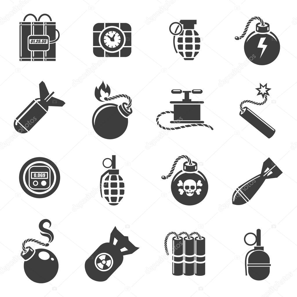 Icones Deas E Explosivos