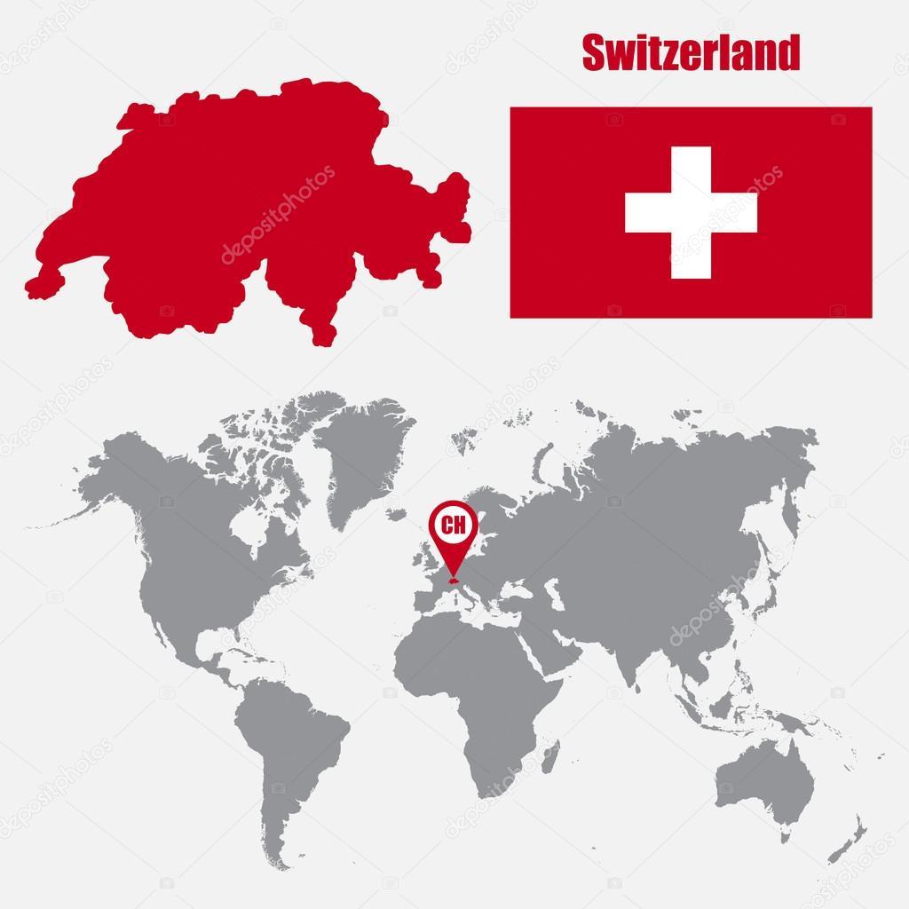 World Map In Switzerland Gallery