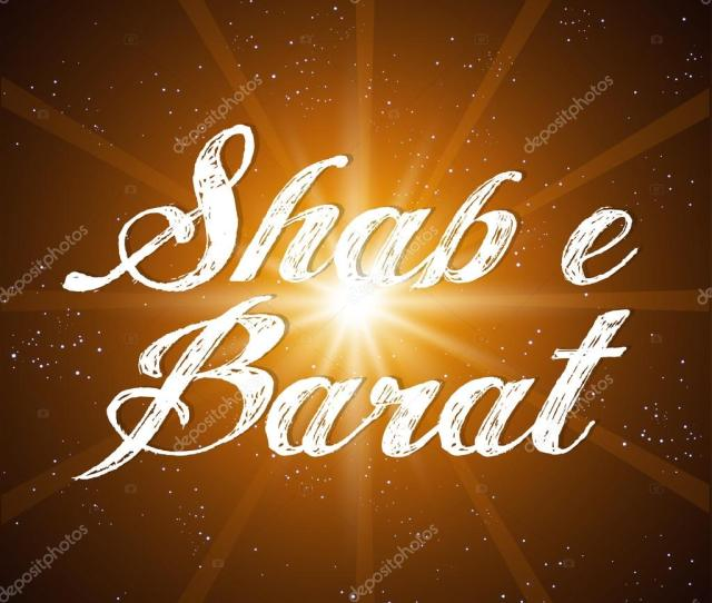 Creative Vector Abstract For Shab E Barat With Nice And Creative Illustration In A Background