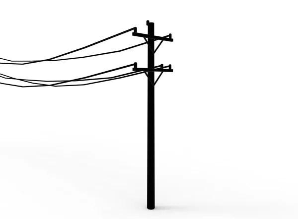 Illustration of Low Man on Totem Pole — Stock Photo