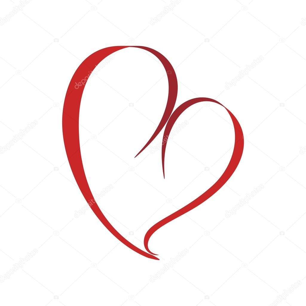love logo heart symbol