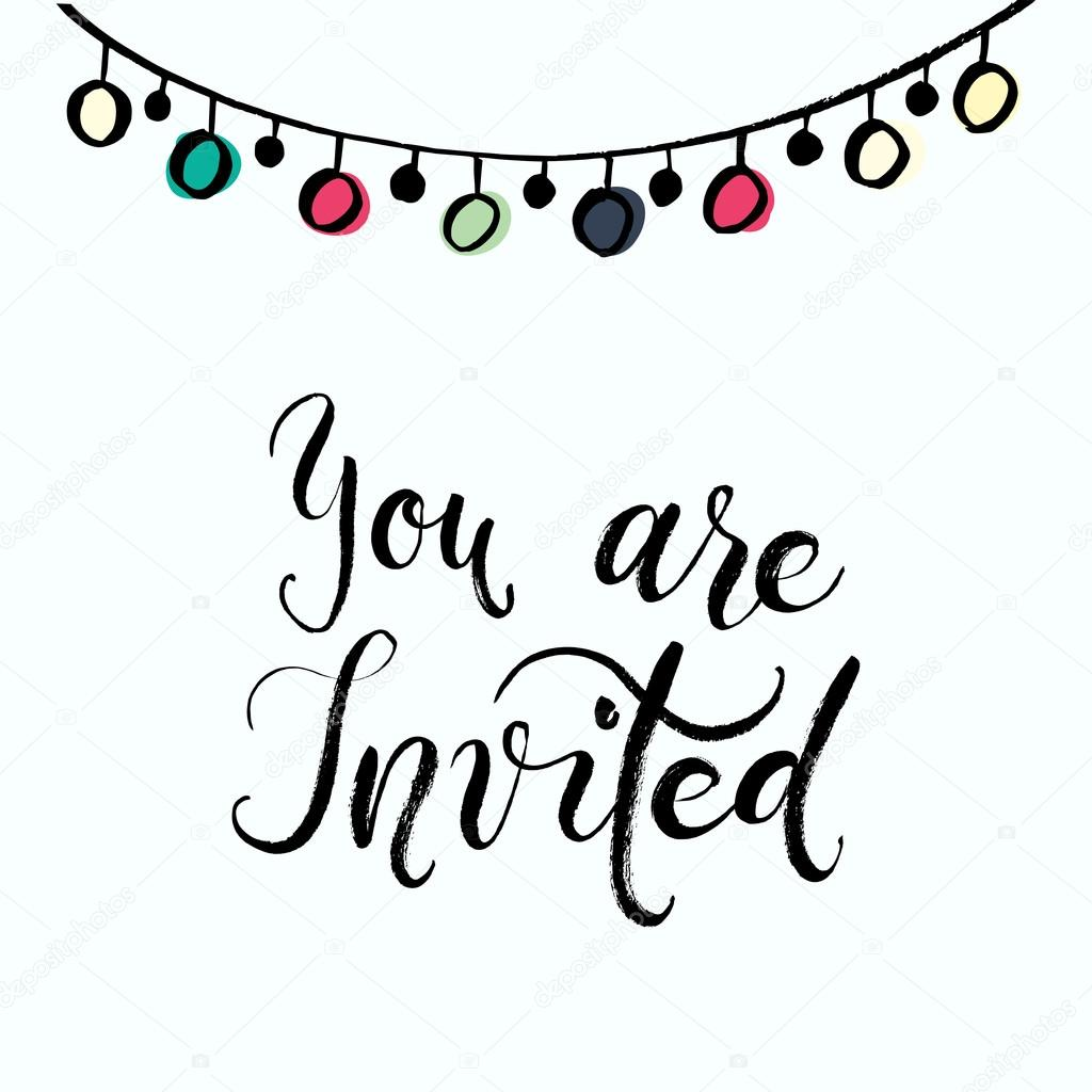 You Are Invited To The Party