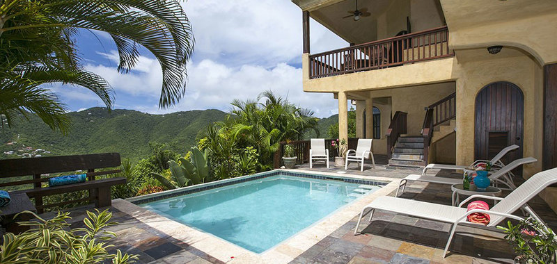 sofa sleeper san francisco velvet slipcover mayan sky, st. john usvi | my favorite villas