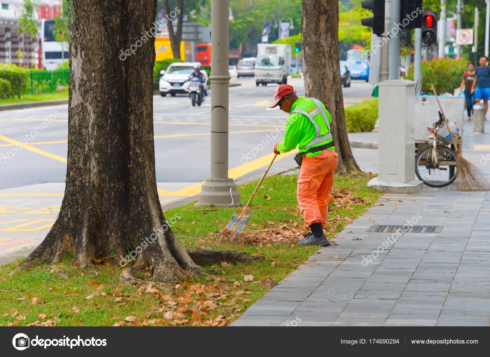 新加坡清潔街 — 圖庫社論照片 © joyfull #174690294
