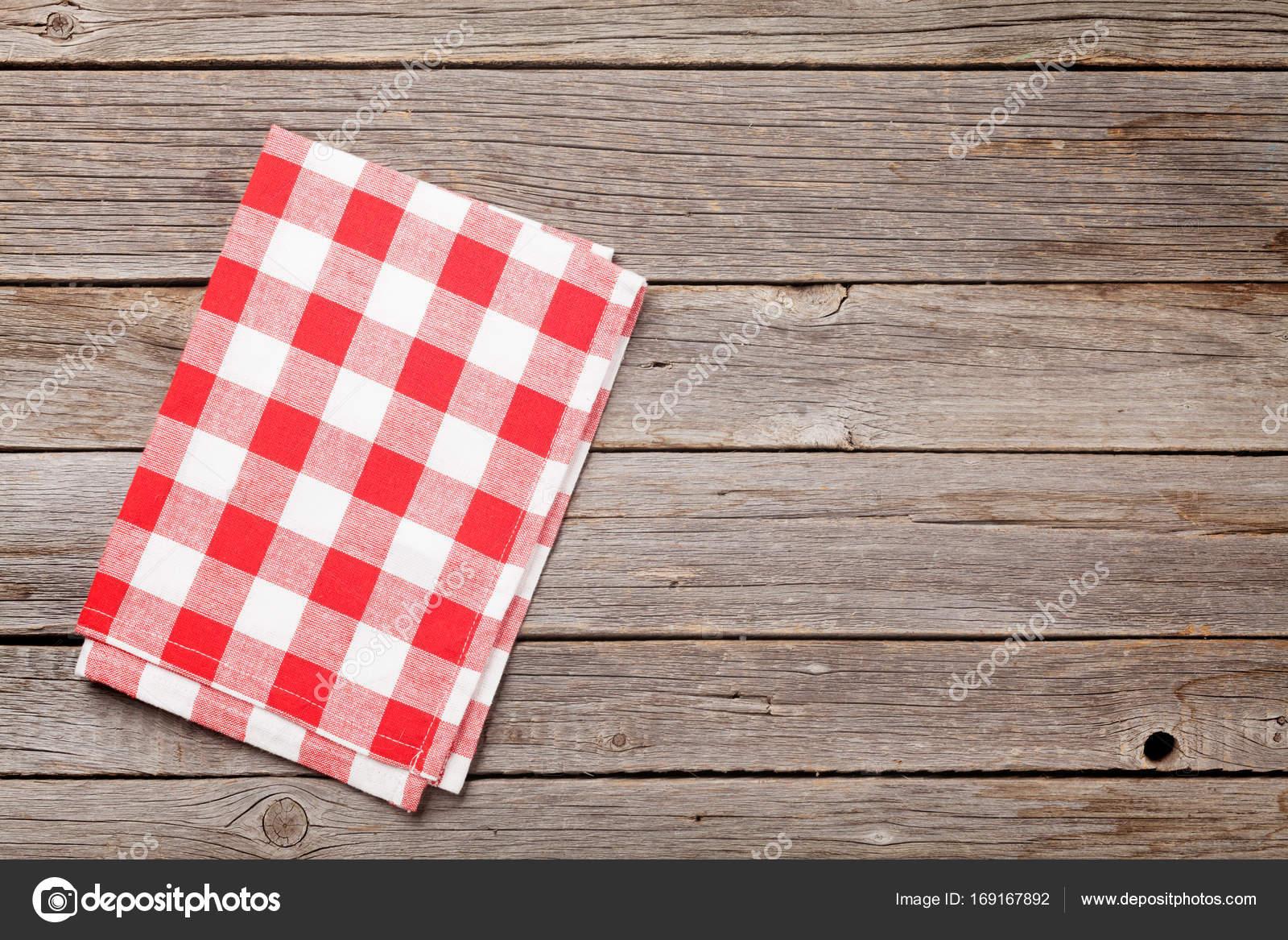 kitchen towel cost of custom cabinets 木制的桌子上厨房巾 图库照片 c karandaev 169167892