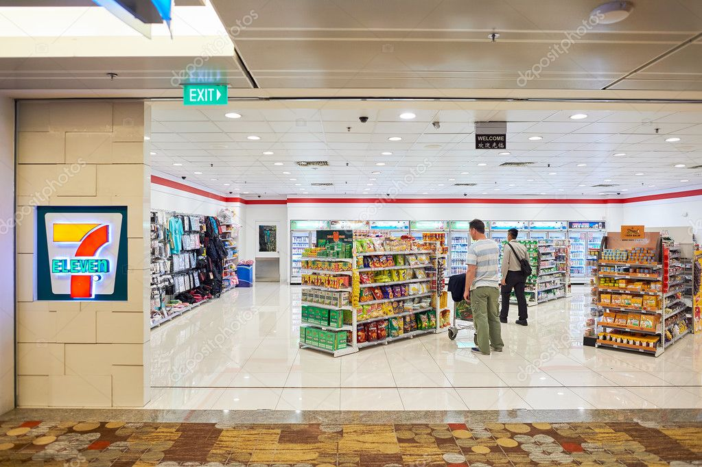 7 Eleven Store In Singapore – Stock Editorial Photo © Teamtime