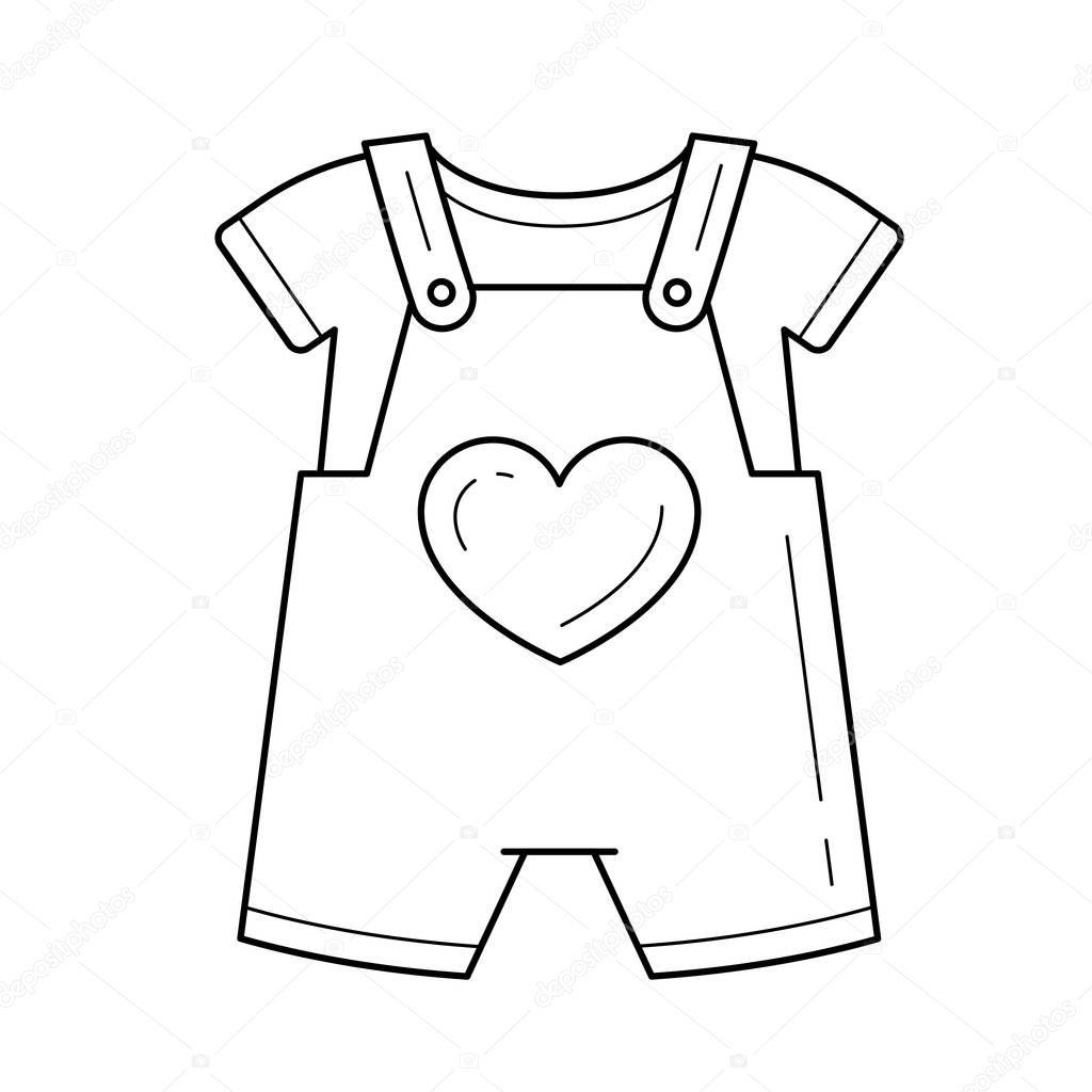 Imagenes Ropa De Bebe Para Colorear