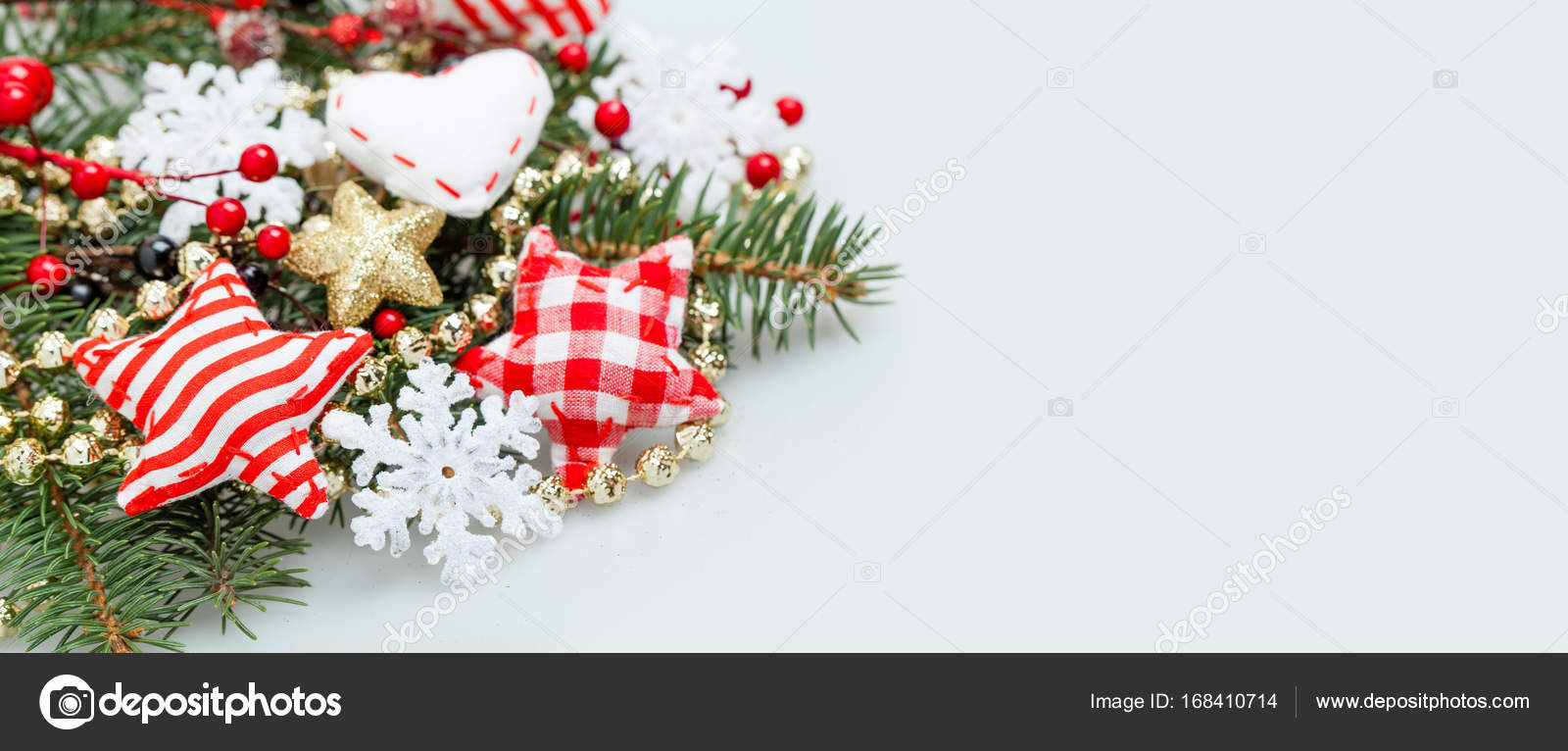 christmas banner background with
