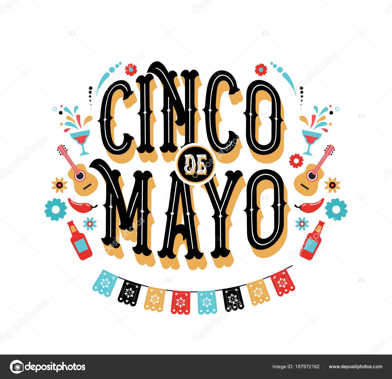 Vector 5 De Mayo Cinco De Mayo