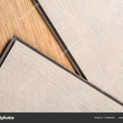 Kitchen Vinyl Flooring 8 Chair Table 浮动地板瓷砖的乙烯基 图库照片 C Olafspeier 155585606