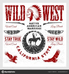 set of wild west american indian designed elements monochrome style on light background vector by digital clipart [ 963 x 1024 Pixel ]
