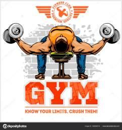 gym logo fitness center logo design template vector set vector by digital clipart [ 1600 x 1700 Pixel ]