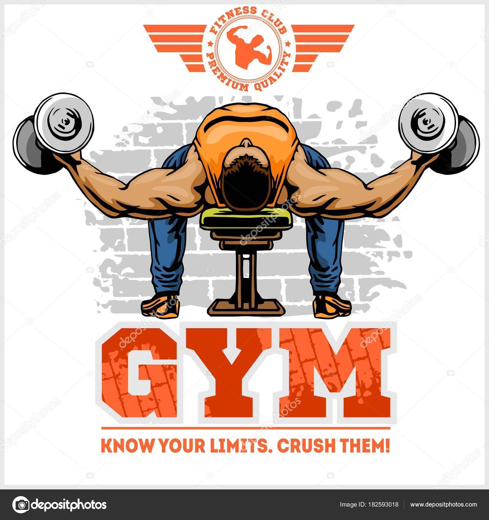 hight resolution of gym logo fitness center logo design template vector set vector by digital clipart